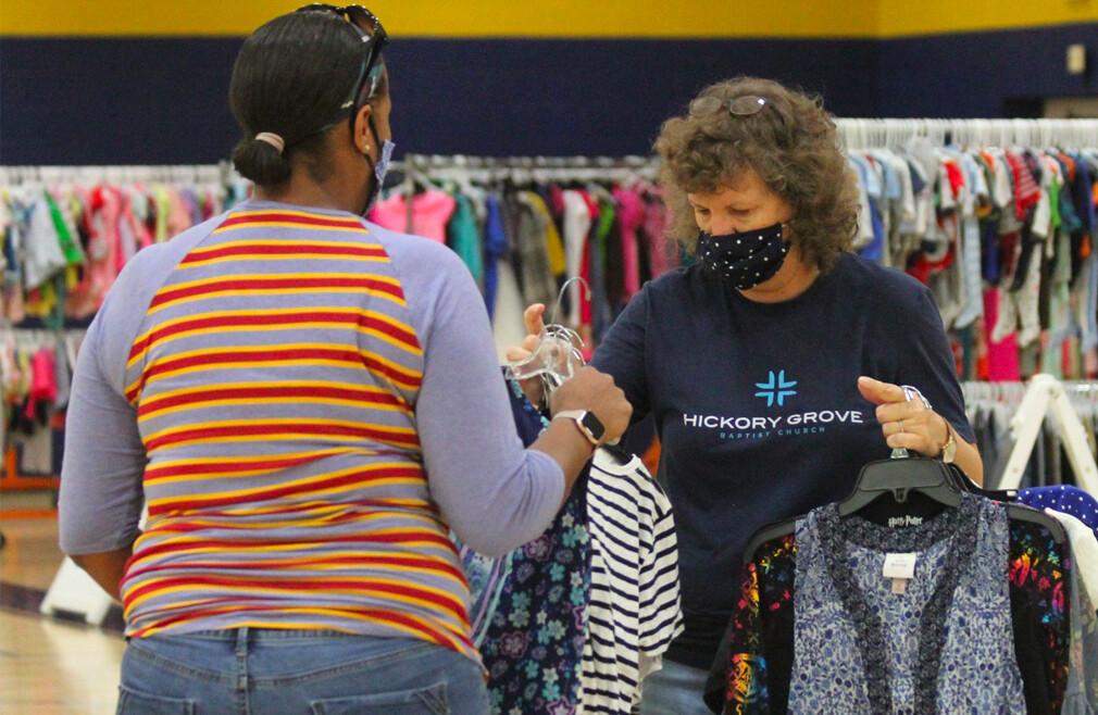 Clothes Closet Community Event